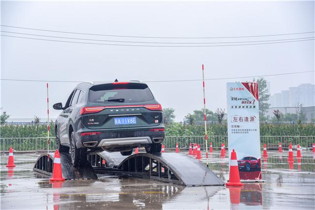 全域中型SUV全能器械挑战赛 东风风光ix7燃擎西安