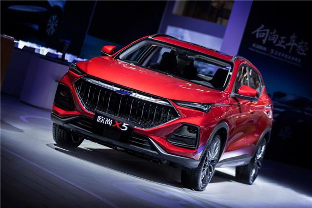 预售6.99万起  超感 新运动SUV长安欧尚X5陕西渝长
