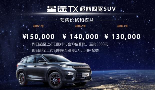 11.99万元起,EXEED星途LX凡尔赛版西安官宣上市 TX超能四驱版同步预售